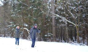 Lygumų slidžių žygis Kleboniškio miške