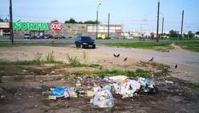 Pilni atliekų konteineriai