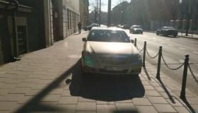 E. Ožeškienės gatvėje užstatytas šaligatvis