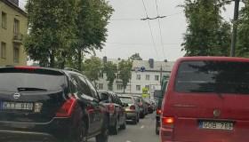 Uždaryta R. Kalantos gatvė