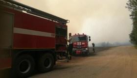 Durpyno gaisras Šilutės rajone