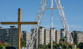 Milžiniškas kryžius Šilainiuose