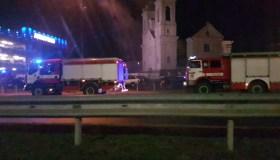 "Ugniagesiai Kauno ""Akropolyje"""