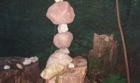 Dėlionė iš akmenukų