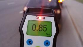 Kauno pareigūnai tikrino vairuotojų blaivumą