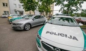 Naujas nežymėtas Kauno policijos automobilis