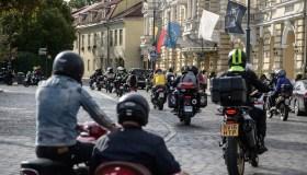 """Motociklininkų ir neregių bendruomenės akcija """"Mane veža"""""""