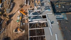 Naujos ledo arenos statybos