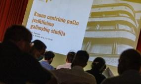 Vieša diskusija skirta Kauno centrinio pašto pastatui