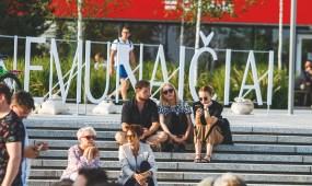 Kaunas Jazz koncertas Vienybės aikštėje