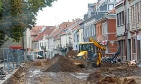 Vilniaus gatvės rekonstrukcijos darbai