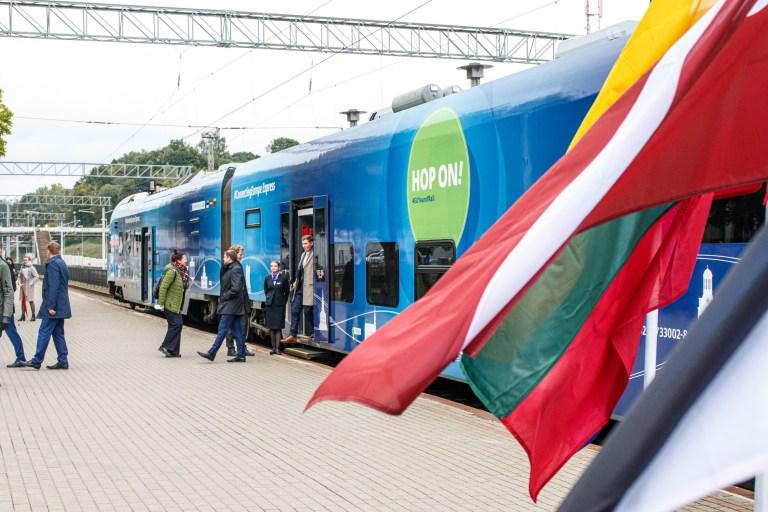 Kaune susitiko traukiniai iš Lisabonos ir Talino