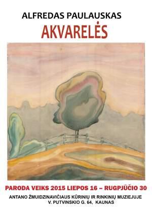 Alfredo Paulausko akvarelių paroda