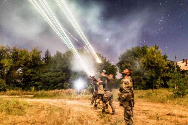 Artūro Morozovo fotografijų parodoje žvilgsnis į karo kasdienybę