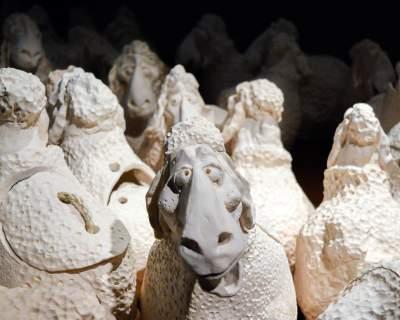 Keramikos muziejuje – gausi avelių banda