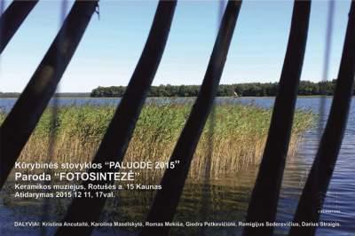 """Kūrybinės stovyklos """"Paluodė – 2015"""", darbų paroda """"Fotosintezė"""""""
