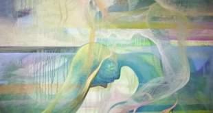 """Dailininkės Simonos Juškevičiūtės tapybos ir koliažo personalinė paroda """"Sugrįžusi Mūza"""" Babtų kraštotyros muziejuje"""