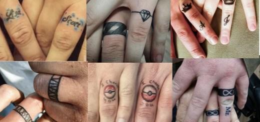 ring finger tattoos