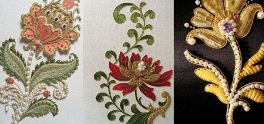 Embroidery designs for suits