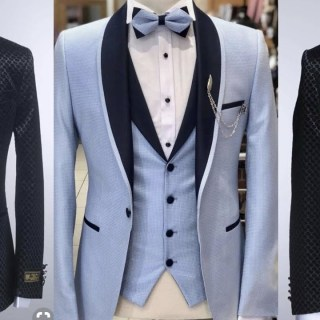 Three piece suits for men