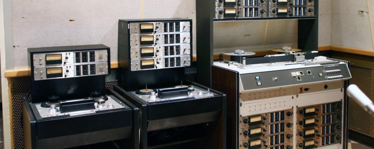 Ampex Multitrack Recorder