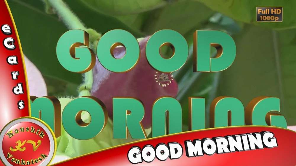 Greetings for Every Morning