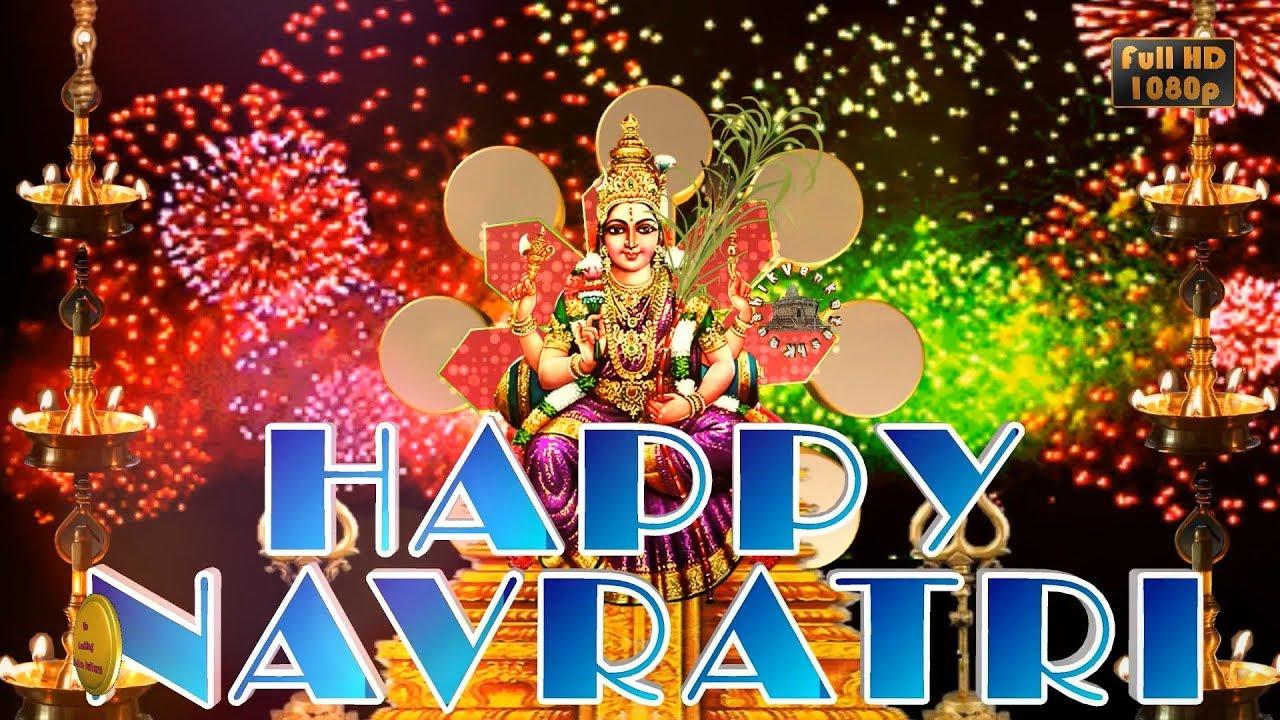 Greetings Image for Hindu festival- Navratri
