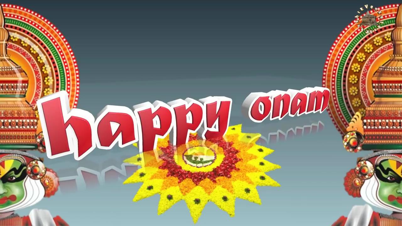 Image of Happy Onam Wishes Video