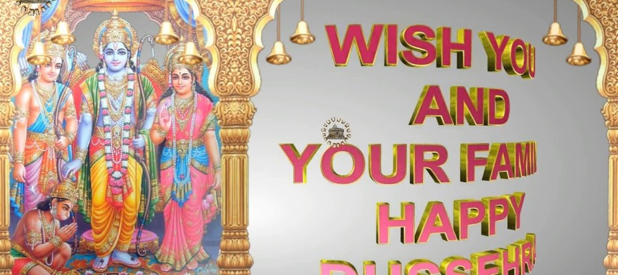 Greetings Image for Dussehra festival