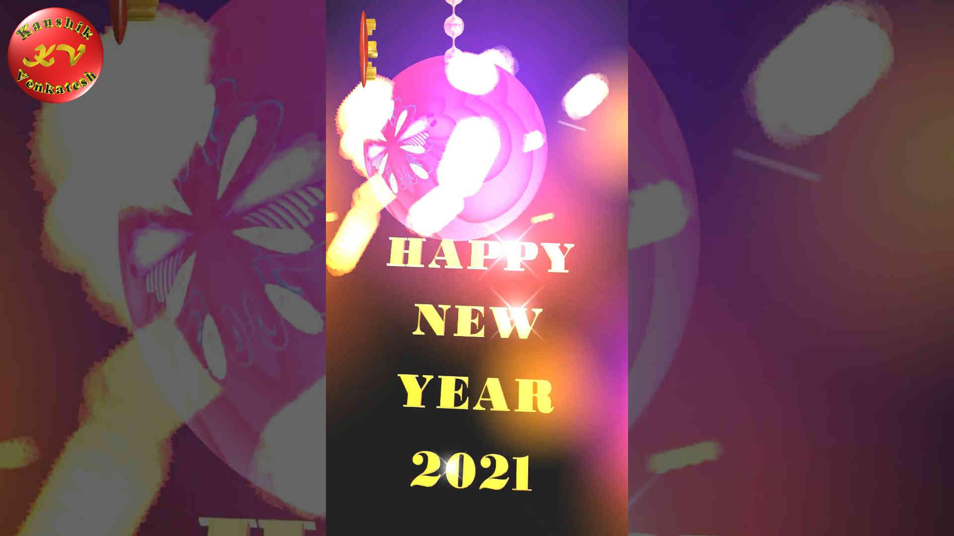 Happy New Year 2021 Video(YouTube Shorts)