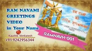 Personalized Video of Ram Navami festival.