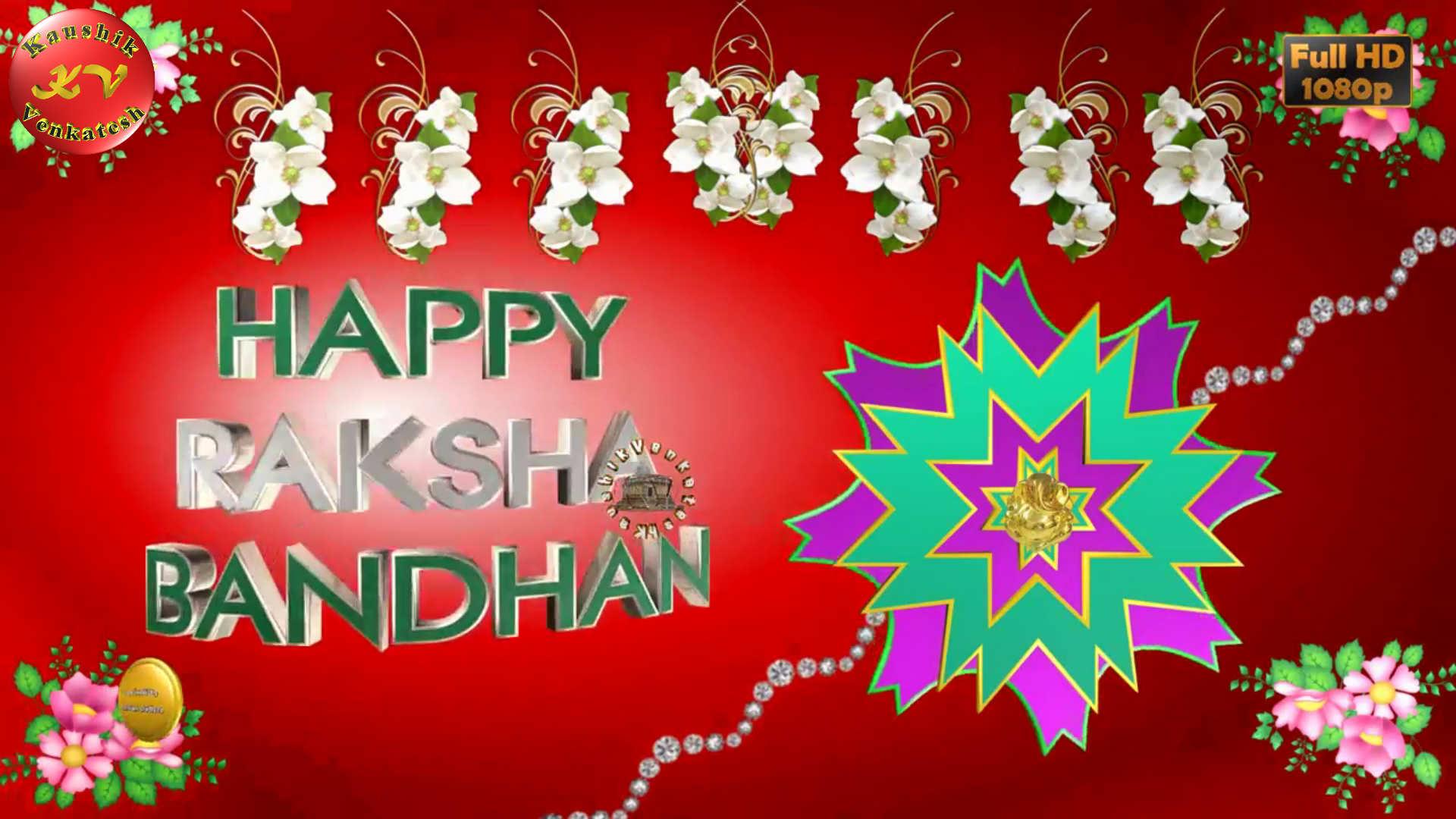 Greetings Image of Raksha Bandhan Festival Status. Rakhi - The festival dedicated to Brother and Sister relationship.