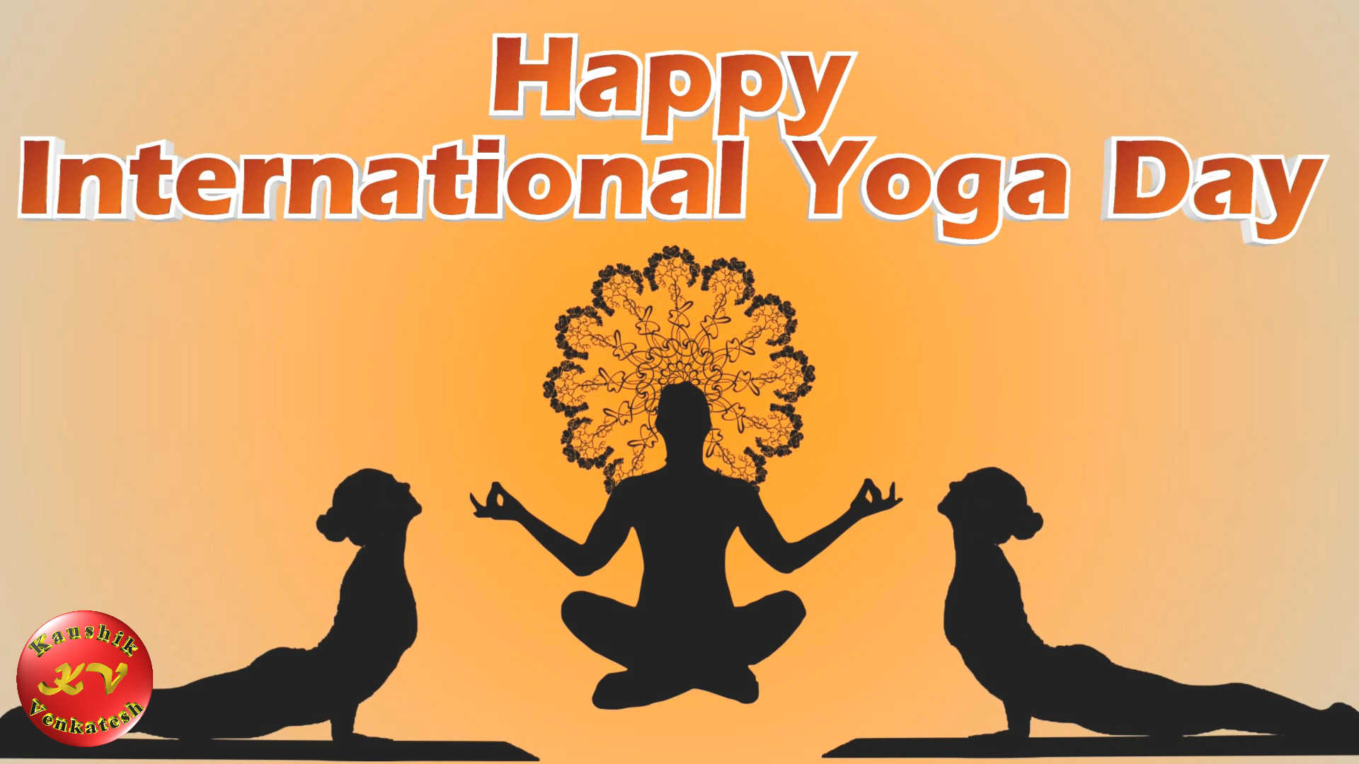 Image of International Event Happy Yoga Day 2021 Video Greetings