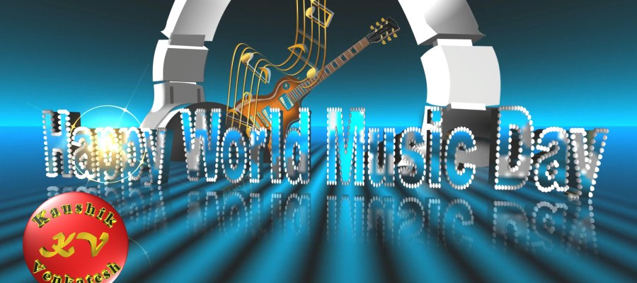 Image of Happy Music Day 2021 Wishes Video