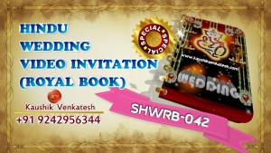 Product Image of Royal Hindu Wedding Invitation Card (Digital)