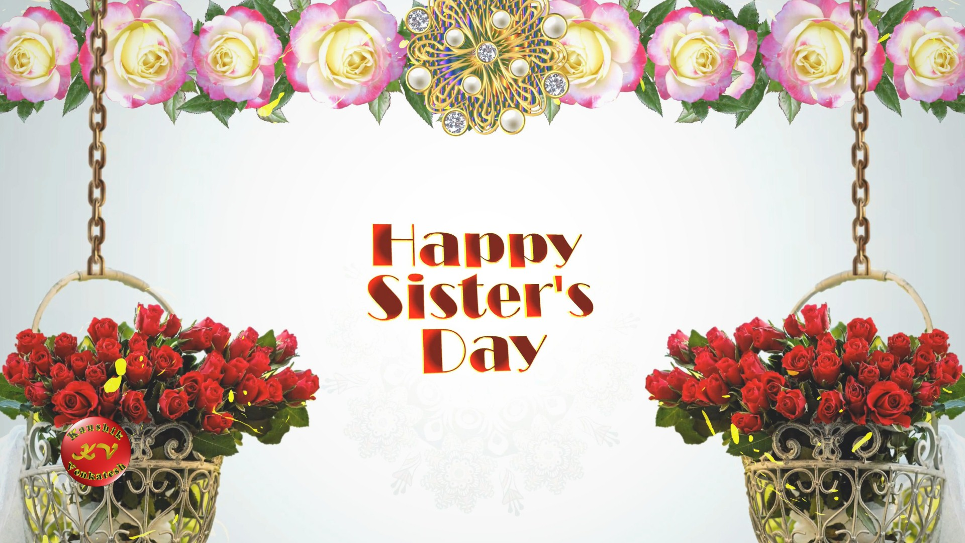 Image of Happy Sisters Day 2021 Wishes Video