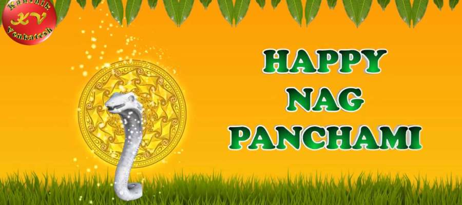 Image of Happy Nag Panchami 2021 Wishes Video