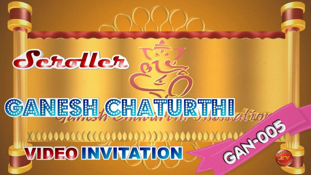 Product Image of Ganesh Chaturthi Video Invitation