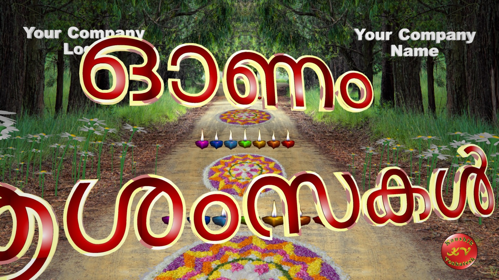 Greetings Image for Happy Onam 2021 Wishes Video