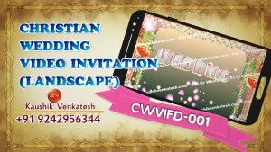 Product Image of Christian Wedding Invitation Video in Full HD