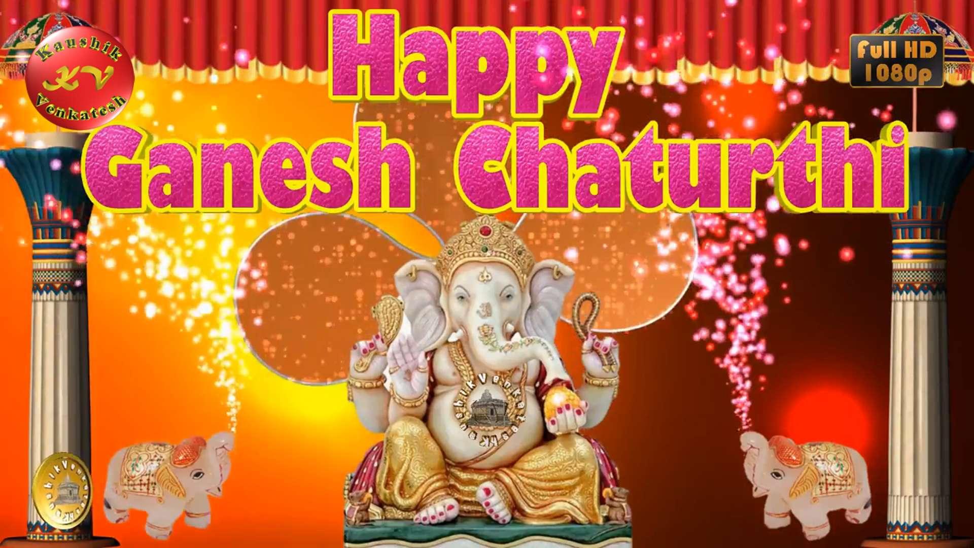 Greetings for Ganesh Chaturthi Video