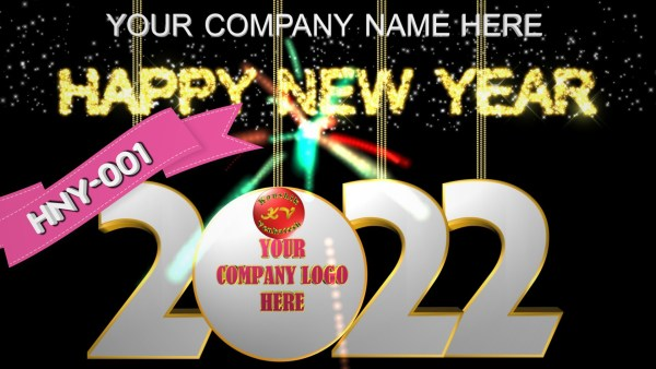 Product Image of Happy New Year 2022 Video Greetings