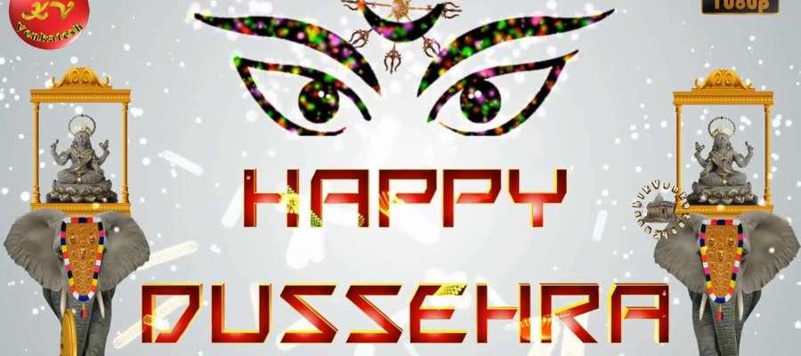 Greetings Image for Dussehra Festival