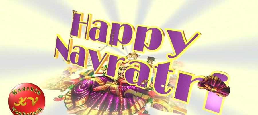 Greetings Image of Happy Navratri 2021 Status