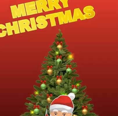 Greetings Image of Merry Christmas 2021