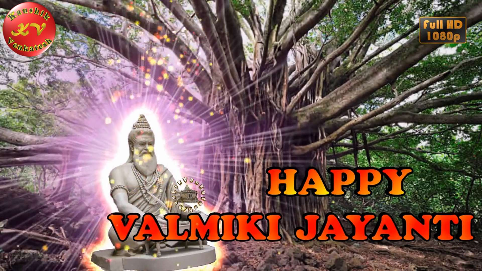 Greetings Image of Maharishi Valmiki Jayanti 2021
