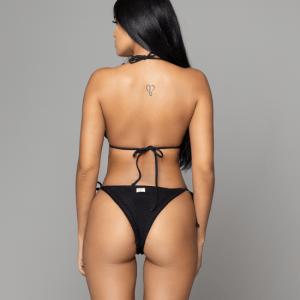 Tango black bikini back de dos piezas