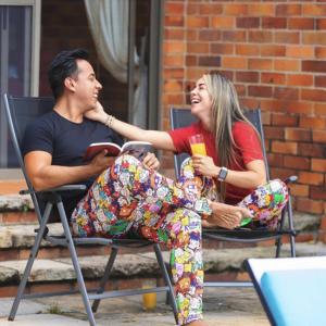Pijama Rugrats de hombre multicolor
