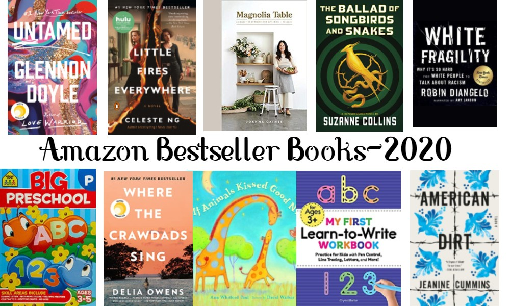 BOOKS-AMAZON BEST SELLERS BOOKS-2020