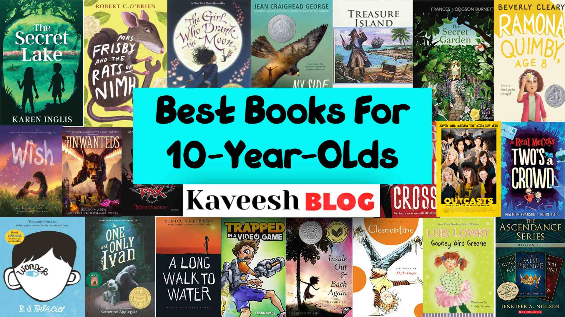 Best books for 10-year-old
